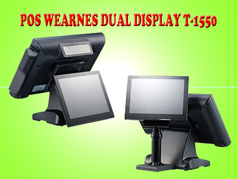 touch screen dual display