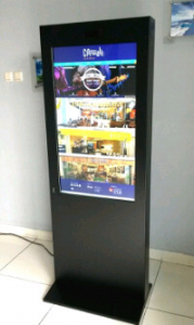 Kiosk big screen 42 inch vertical