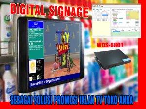 JUAL DIGITAL SIGNAGE WDS 6801