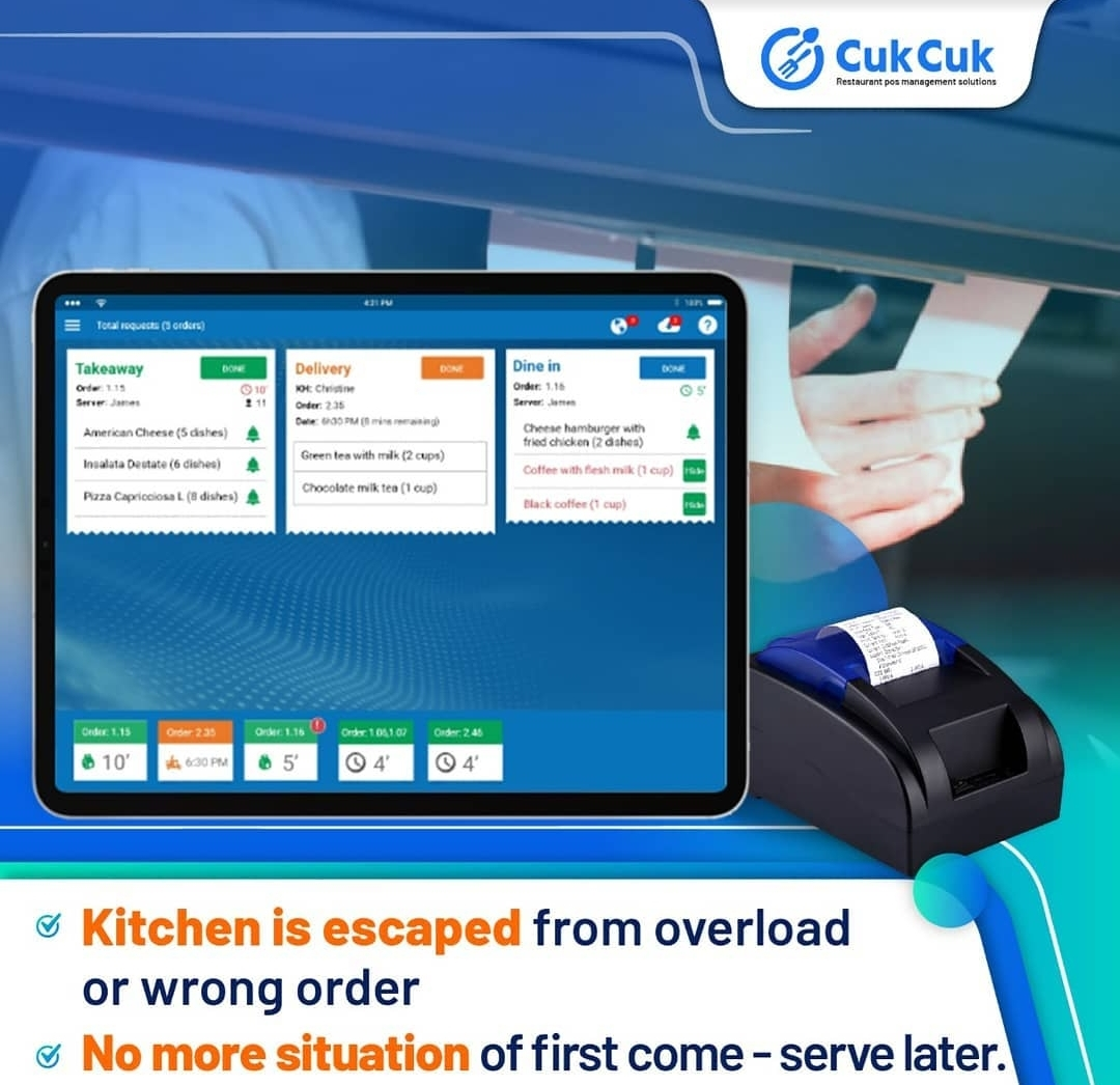 Kitchen order